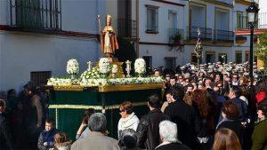 procesión san Ildefonso